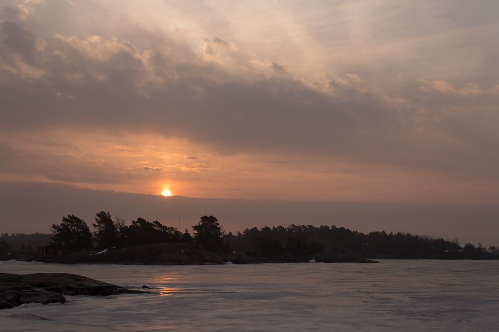 Auringonnousu 1.3.2014