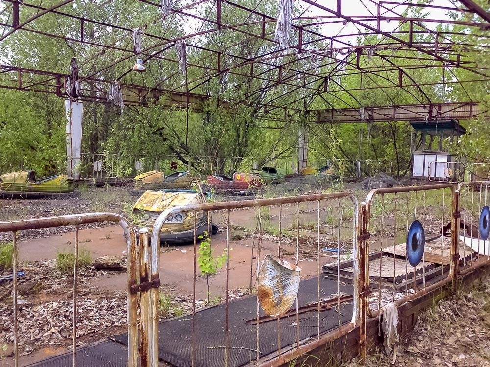 Hylätty huvipuisto, Pripyat. 16.5.2007