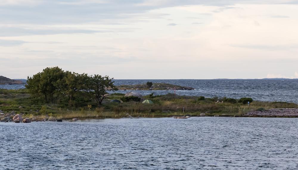 Moringharun telttapaikka.